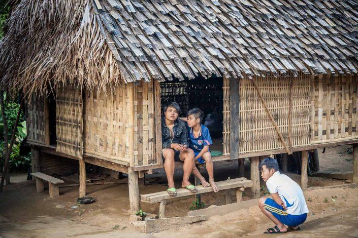 Vietnam - village children