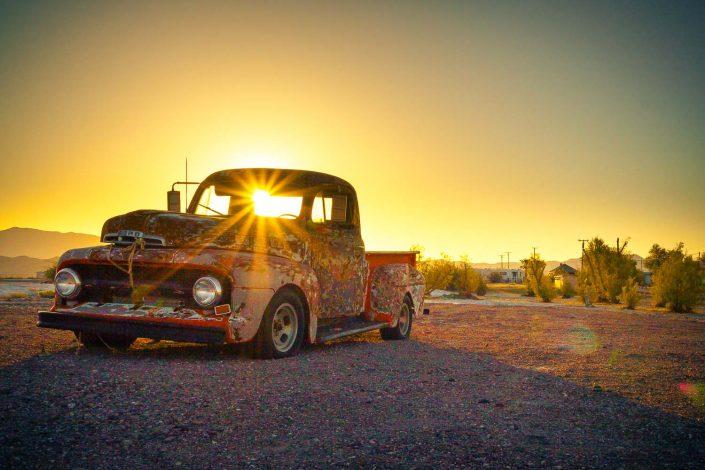 Death Valley - Old Car