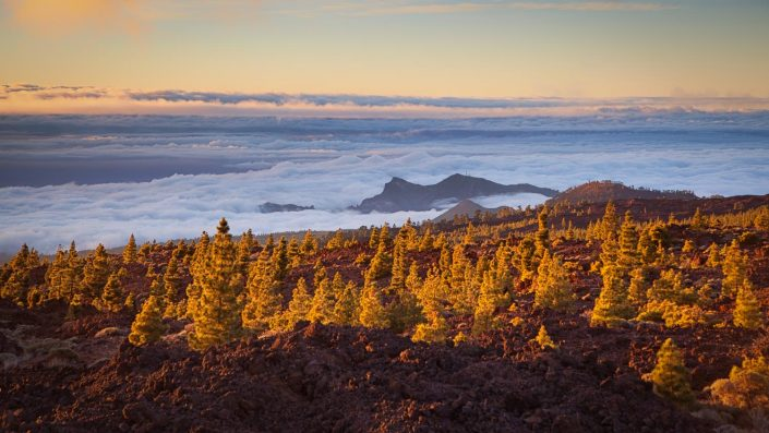 Gran Canaria - over the clouds