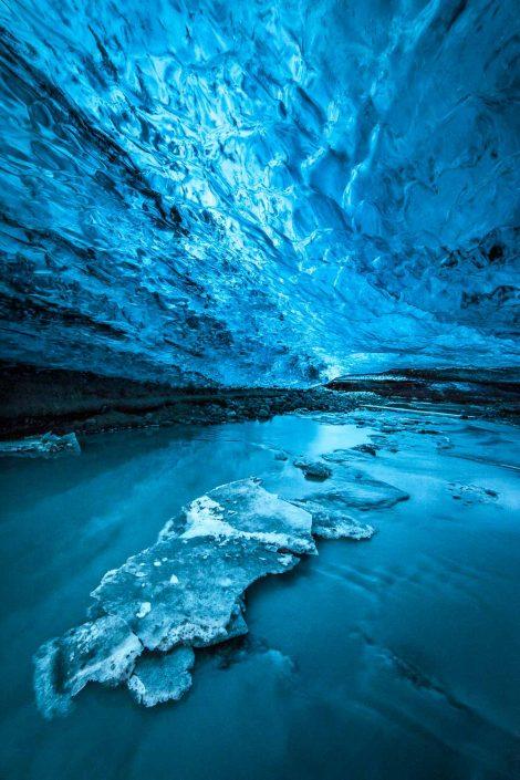 Iceland - Vatnajökull crystal cave