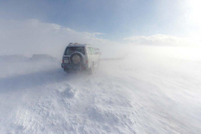 Iceland blizzard