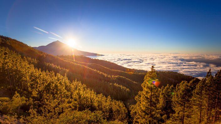 Tenerife Teide sunset